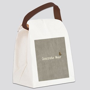 Funny or Otherwise Concrete Canvas Lunch Bag