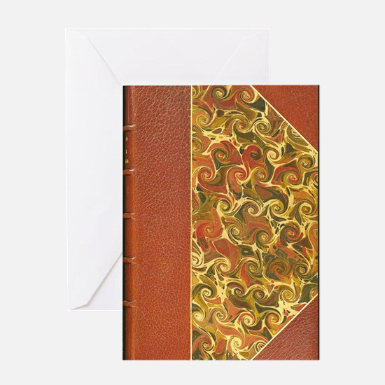Old Antique Book Greeting Cards