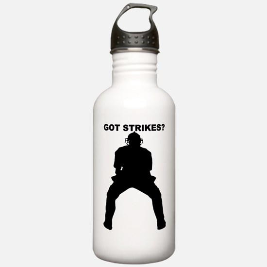 Cute Umpire Water Bottle