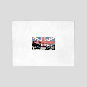 London Jacked 5'x7'Area Rug