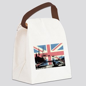 London Jacked Canvas Lunch Bag