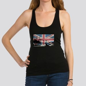 London Jacked Racerback Tank Top