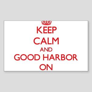 Keep calm and Good Harbor Massachusetts ON Sticker
