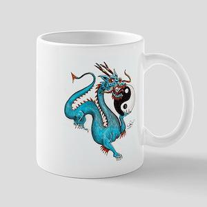 Painted Dragon Mugs