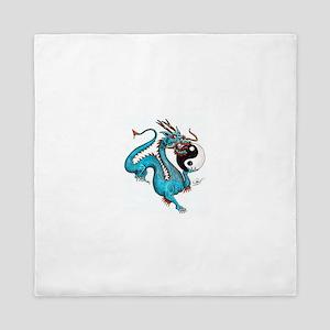 Painted Dragon Queen Duvet
