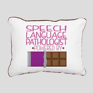 Speech Language Patholog Rectangular Canvas Pillow