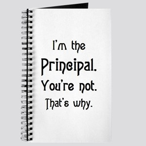 i'm the principal Journal