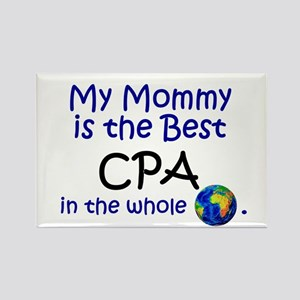 Best CPA In The World (Mommy) Rectangle Magnet