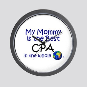 Best CPA In The World (Mommy) Wall Clock