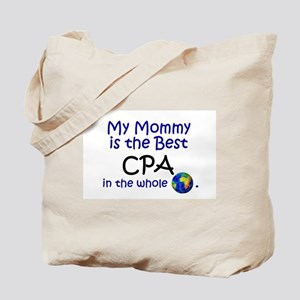 Best CPA In The World (Mommy) Tote Bag
