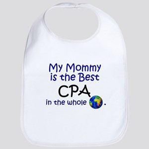 Best CPA In The World (Mommy) Bib