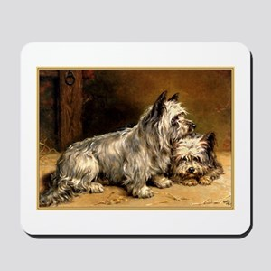 TWO TERRIERS Mousepad