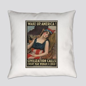 """""""Wake Up!"""" Everyday Pillow"""