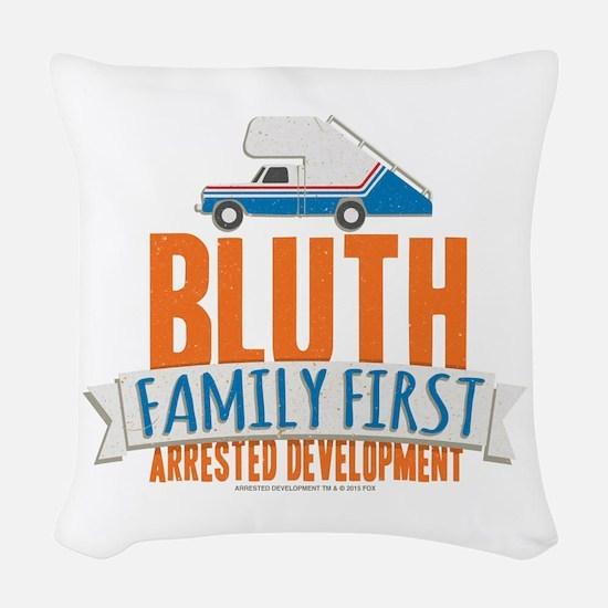 Arrested Development Family Fi Woven Throw Pillow