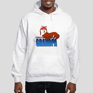 Copper Siberian Husky Grandpa Sweatshirt