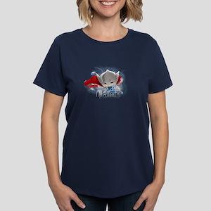 Chibi Mighty Thor Women's Dark T-Shirt