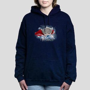Chibi Mighty Thor Women's Hooded Sweatshirt