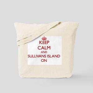 Keep calm and Sullivans Island South Caro Tote Bag
