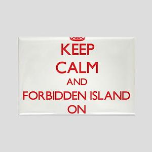 Keep calm and Forbidden Island Northern Ma Magnets