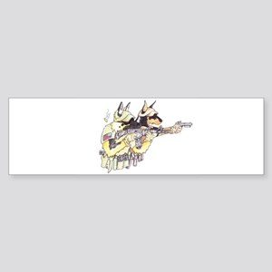 Sheepdog2 Bumper Sticker