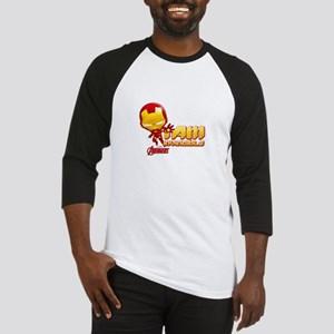 Chibi Invincible Iron Man Baseball Jersey