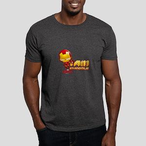 Chibi Invincible Iron Man Dark T-Shirt