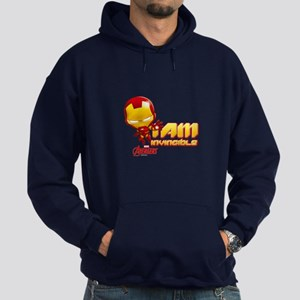 Chibi Invincible Iron Man Hoodie (dark)