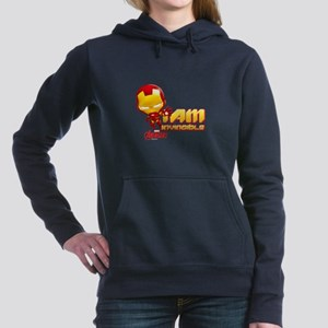 Chibi Invincible Iron Ma Women's Hooded Sweatshirt