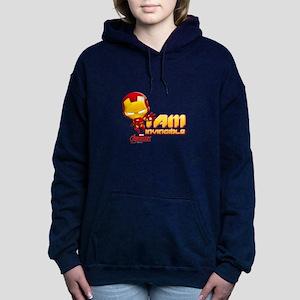 Chibi Invincible Iron Ma Women's Hooded Sweatshirt