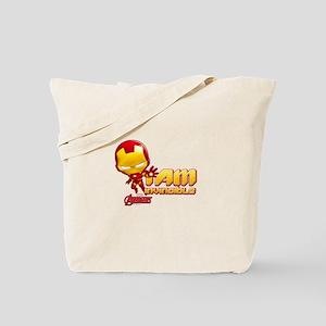 Chibi Invincible Iron Man Tote Bag
