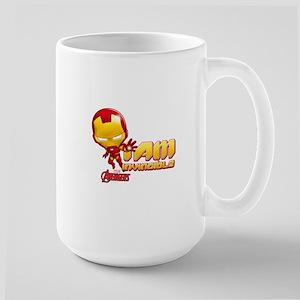 Chibi Invincible Iron Man Large Mug