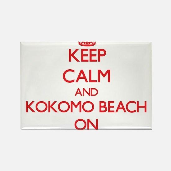 Keep calm and Kokomo Beach Northern Marian Magnets