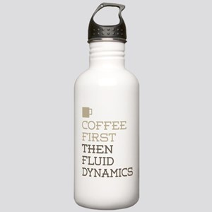 Coffee Then Fluid Dyna Stainless Water Bottle 1.0L