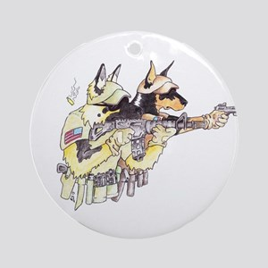Sheepdog2 Ornament (Round)