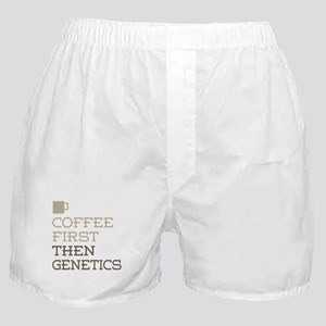 Coffee Then Genetics Boxer Shorts