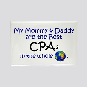 Best CPAs In The World Rectangle Magnet