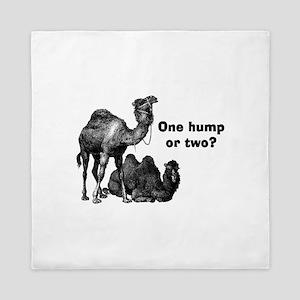 Funny Camels Queen Duvet
