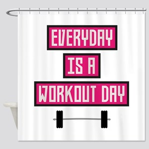 Everyday Workout Day C52c3 Shower Curtain