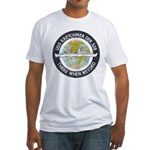 USS KRETCHMER Fitted T-Shirt