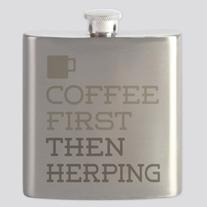 Coffee Then Herping Flask