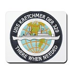 USS KRETCHMER Mousepad