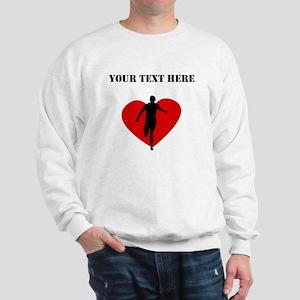 Running Heart (Custom) Sweatshirt