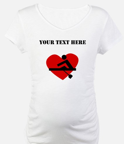 Rowing Heart (Custom) Shirt