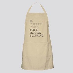 Coffee Then House Flipping Apron
