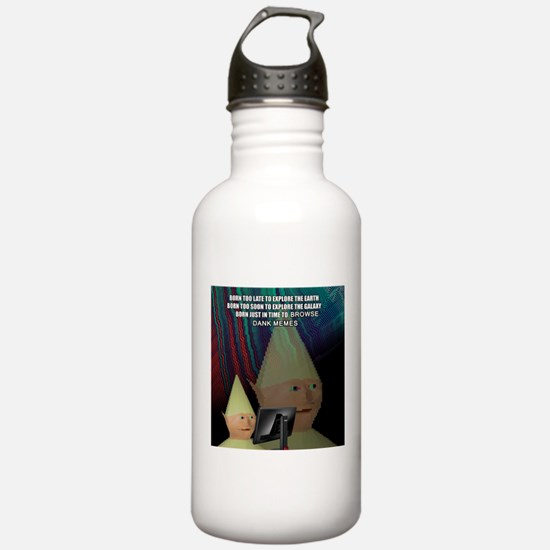 Dank Meme Explorer Water Bottle
