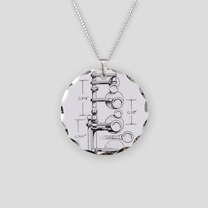 1939 Selmer Paris Balanced A Necklace Circle Charm