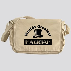 Worlds Greatest Magician Messenger Bag