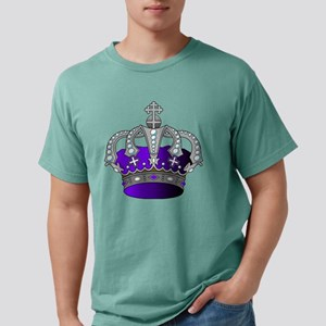 Silver & Purple Royal Crown T-Shirt