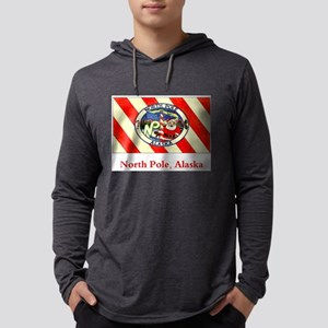 North Pole AK Flag Long Sleeve T-Shirt