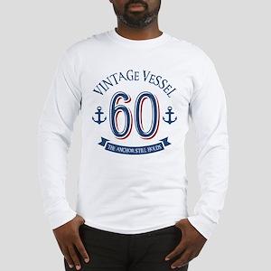 Nautical 60th Birthday Long Sleeve T-Shirt